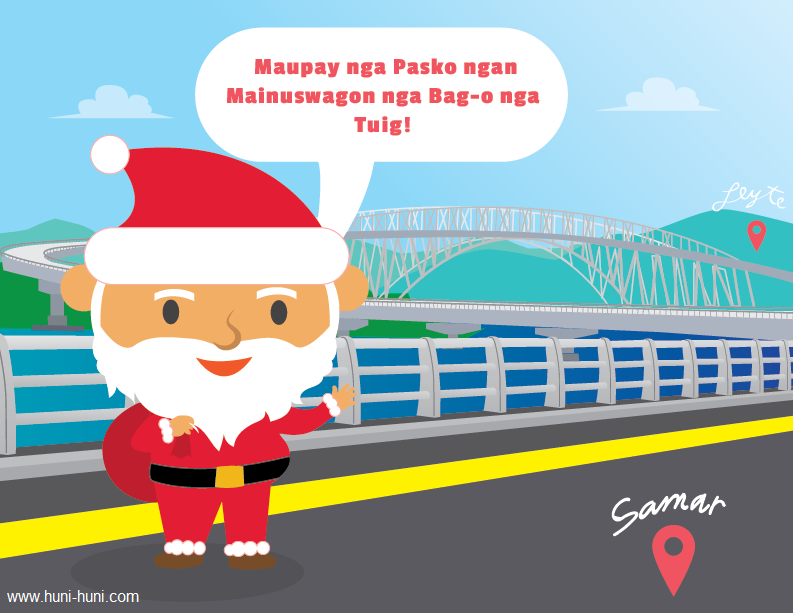 Santa Claus Waray Filipino Dialect