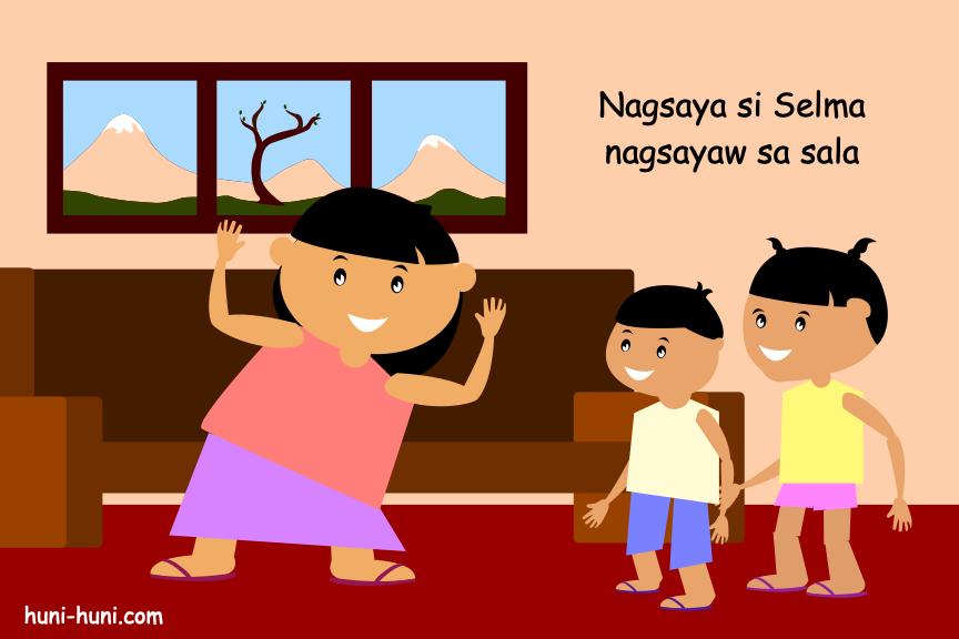 nagsaya si selma nagsayaw sa sala colored