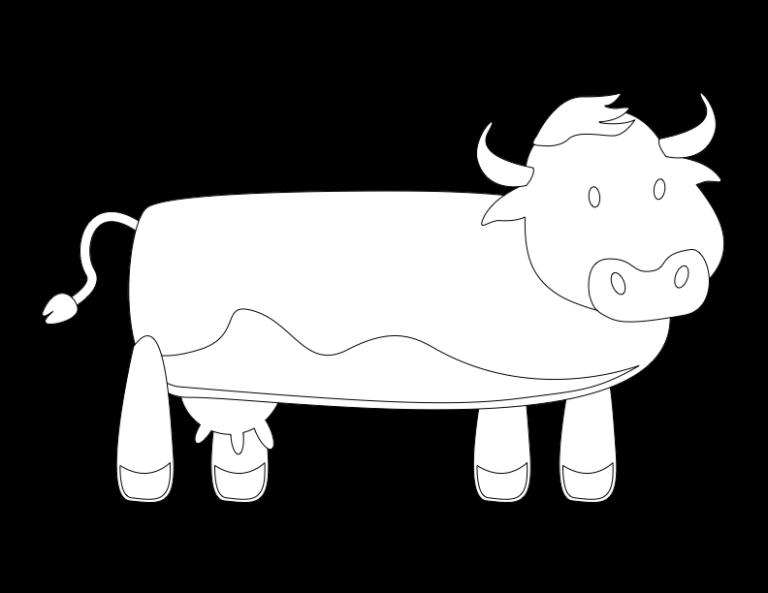 huni-huni-flashcard-coloring-page-outline-baka-cow