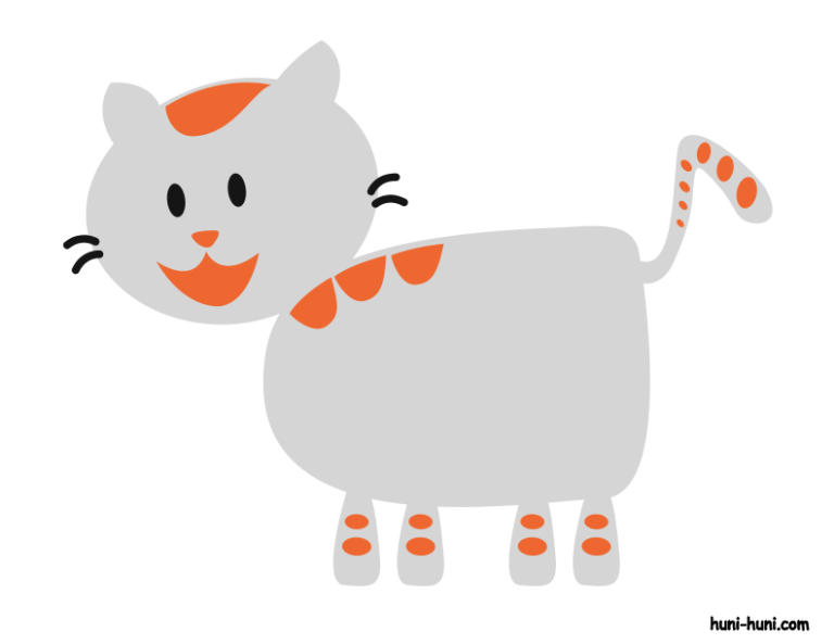 huni-huni-flashcard-colored-iring-cat