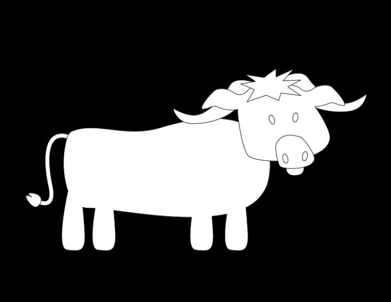 huni-huni-flashcard-coloring-page-outline-kabaw-waterbuffalo