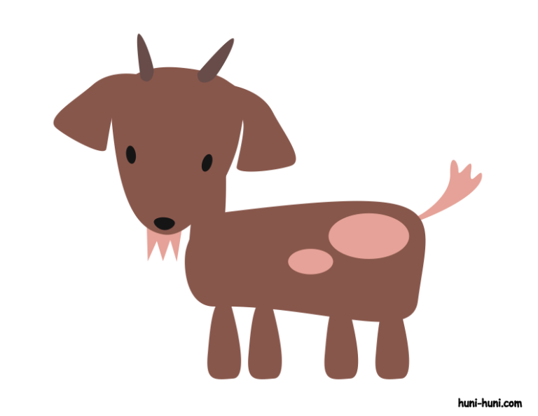 huni-huni-flashcard-colored-kanding-goat