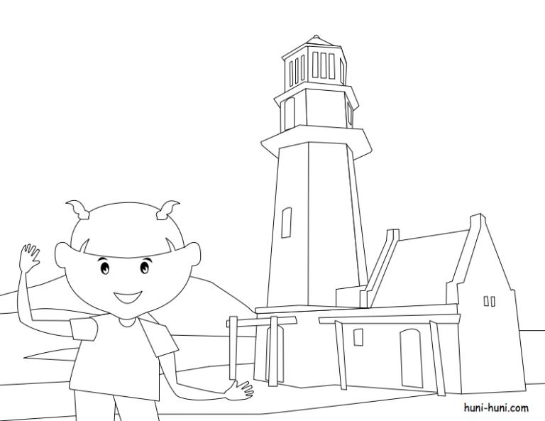 huni-huni-flashcard-coloring-page-outline-BascoLighthouse-Batanes