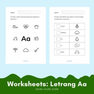 Letrang Aa Sinugbuanong Bisaya Worksheets (Letter A) (4)