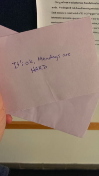 What could be cooler than randomly finding a hand-written love letter… I know it would make my day!