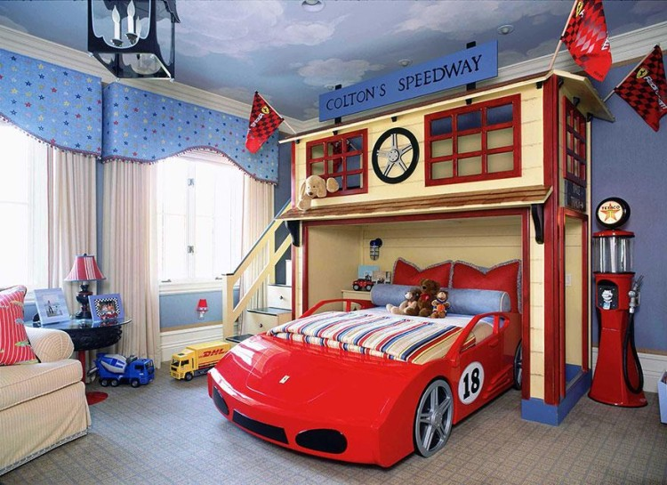 If I had one of these rooms as a kid, I would never leave it!
