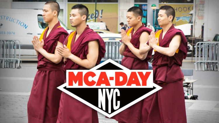 I don't care if they're not real monks…their breakdancing skills are AWESOME!