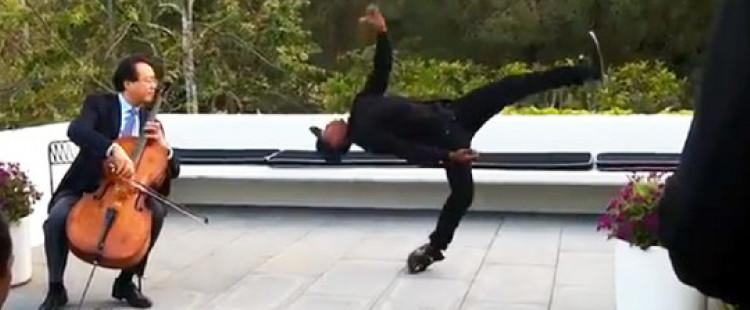 Awesome Energy Ignites When Yo-Yo-Ma And A Street Dance Legend Team Up