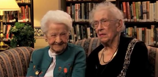 Today's Pop Culture Broken Down By Two 100 Year Old Ladies. Priceless.