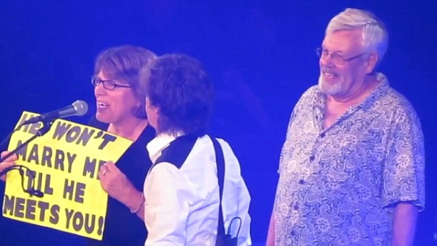 Proposals Don't Get Much Better Than This! Paul McCartney Shares The Stage For This Special Moment.