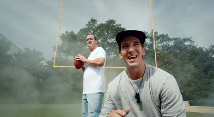 Manning Brothers And Their Football Fantasy Music Video