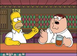 Family Guy Takes Us Back To The Simpsons!