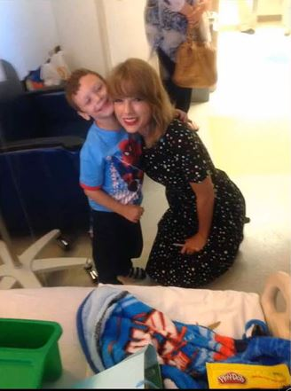 T-Swift Sings With A Young Cancer Patient Just Another Reason Why She Is Awesome