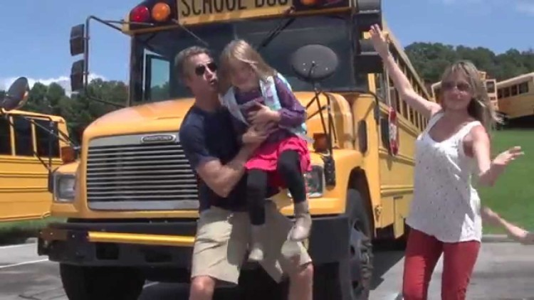 Parents Cheer As Back-To-School Time Nears