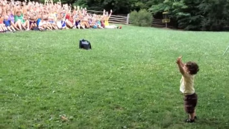 This Little Boy Certainly Knows How To Command An Audience!