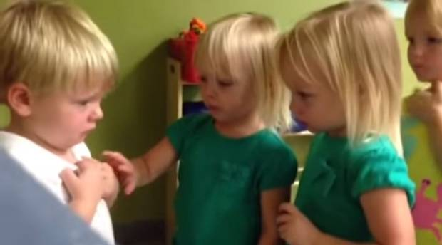 Is It Raining Or Sprinkling? According To These 3 Precious Toddlers, We May Never Know…