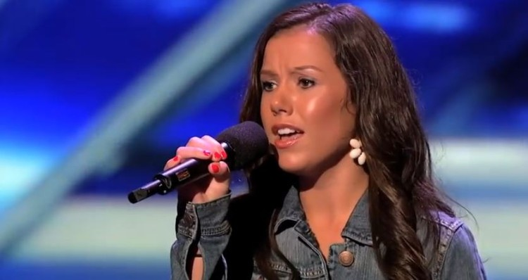 At First The Judges Are Confused By Her But Then When She Sings She Amazes Them!