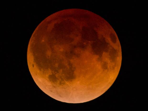 If You Didn't See The Lunar Eclipse Early Wednesday Morning, Check Out This STUNNING Time Lapse Video Of The Blood Moon!