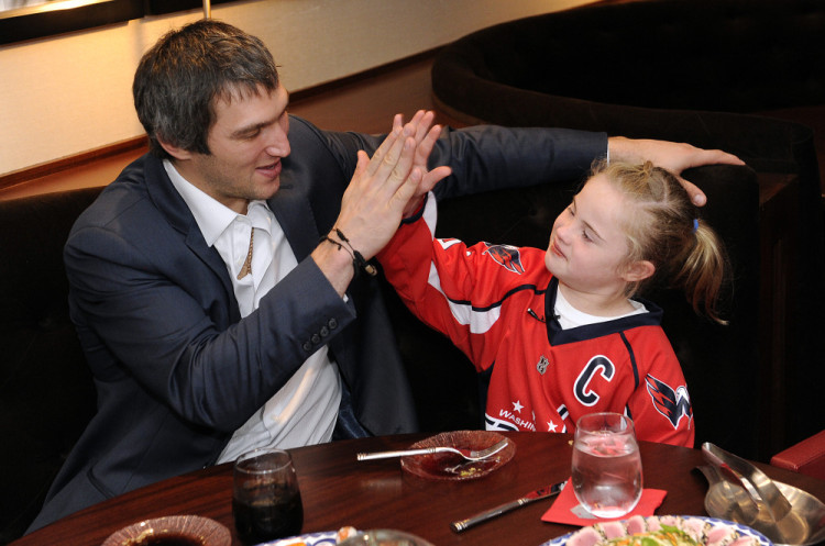 Alexander Ovechkin Takes This Precious 10-Year-Old Girl On Her Dream Date. And It Is Absolutely Priceless!