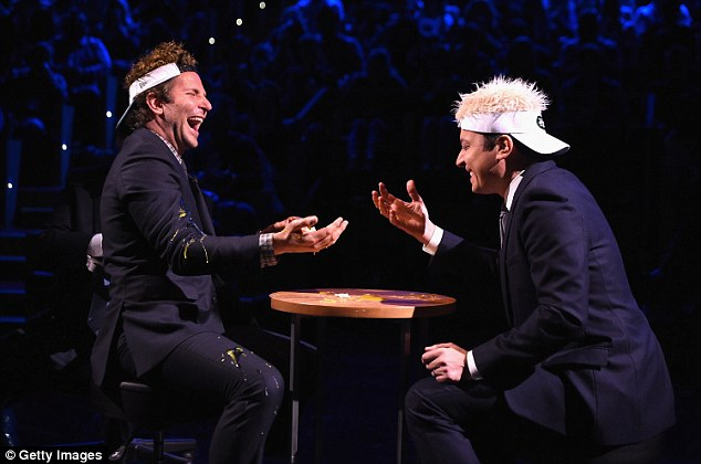 Jimmy Fallon And Bradley Cooper Play A Hilarious Game Of Egg Russian Roulette!