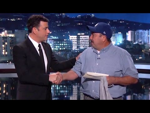 This Incredible Hero Saved A Man From A Burning House And Jimmy Kimmel Honors Him In An Awesome Way!
