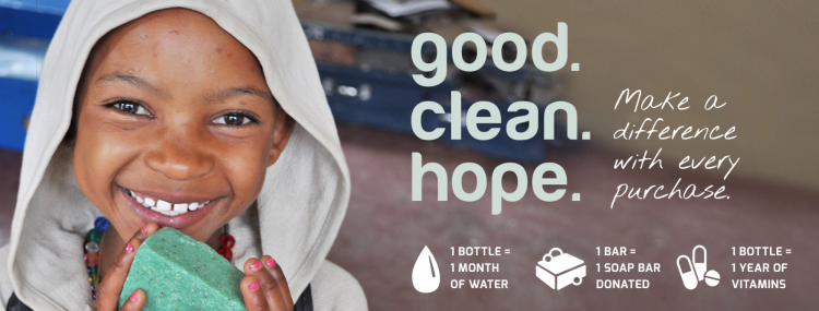 Spread Hope Around The World With Soap!