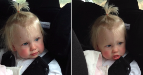 """Watch As This Little Girl Wakes Up From Her Nap Just To Do A Little Dance To Ed Sheeran's Song """"Don't"""""""