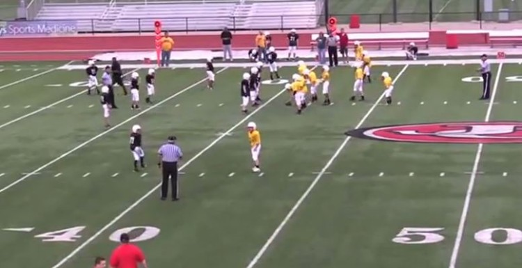A Trick Football Play Leaves One Junior High Team In Shock And The Other With A Touch Down