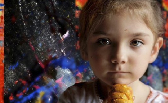 7-Year-Old Painting Prodigy Produces Absolutely Incredible Work!