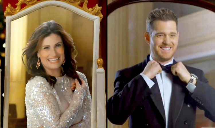 Idina Menzel + Michael Bublé = Most Perfect Christmas Song This Year!