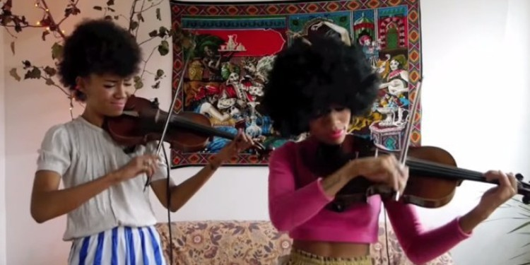"""Musical Duo Chargaux Does A Strings Cover """"Shake It Off"""" And It Is Absolutely AMAZING!"""