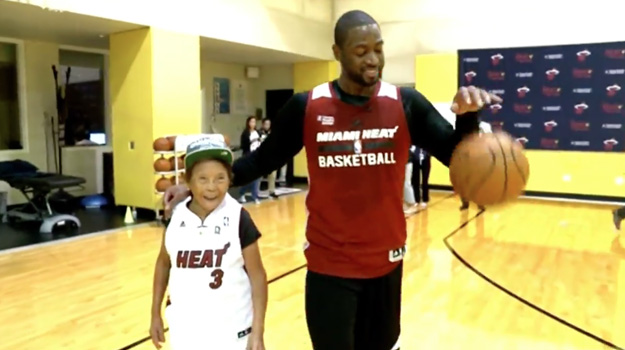 Dwayne Wade's Surprise Gift To 90 Year Old Woman Is Adorable and Heart-Warming