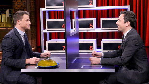 """Channing Tatum And Jimmy Fallon Play A Hilarious Game Of """"Box Of Lies"""""""