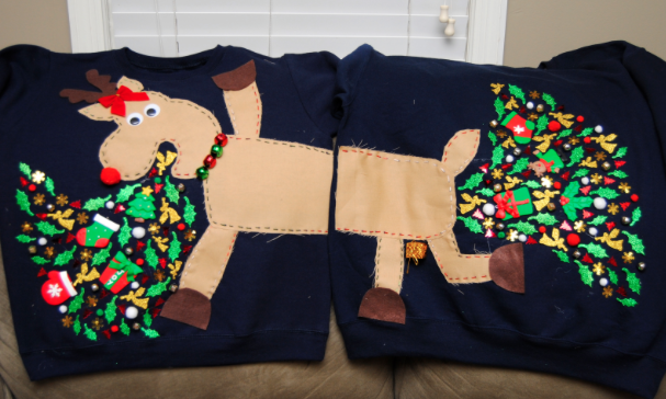 12 Of The Most Creative (And Ugliest!) Christmas Sweaters In Existence