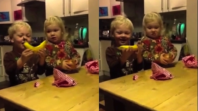 Dad Gives His Toddlers The Worst Gifts, And Their Reactions Will Totally Restore Your Faith In Humanity