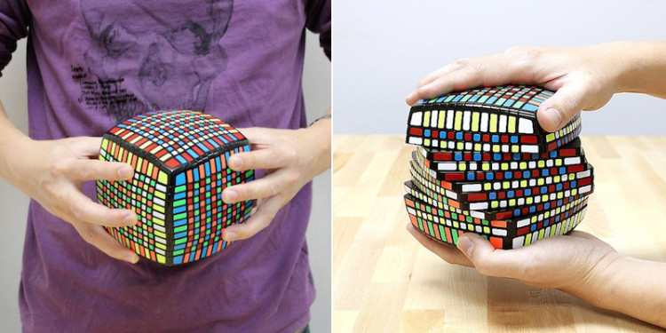 If The Old Rubik's Cube Wasn't Challenging Enough, There's Now A New 3D Puzzle With Over 1,000 Squares!