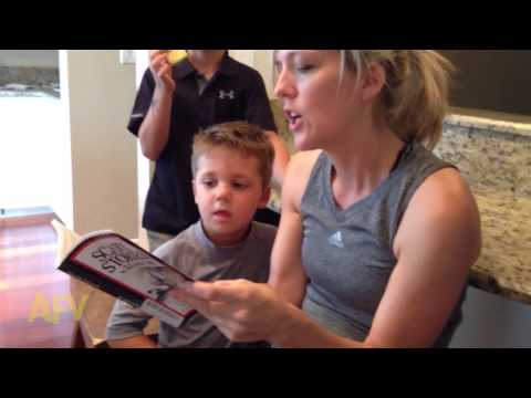 Little Kid's Reaction To A Scary Story Is Absolutely Hilarious!