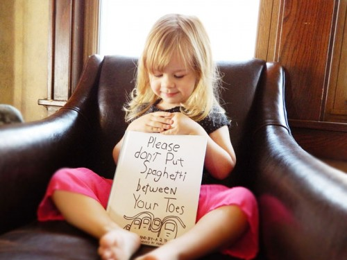 Dad Turns His 3-Year-Old Daughter's Funny Sayings Into Beautiful Artwork