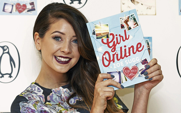 YouTube Star-Turned-Author Zoe Sugg Is Breaking Sales Records With Her Debut Novel!