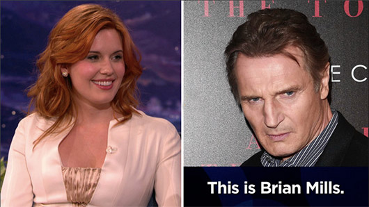 """Maggie Grace And Liam Neeson Played A Hilarious """"Taken"""" Style Prank On A Guy"""