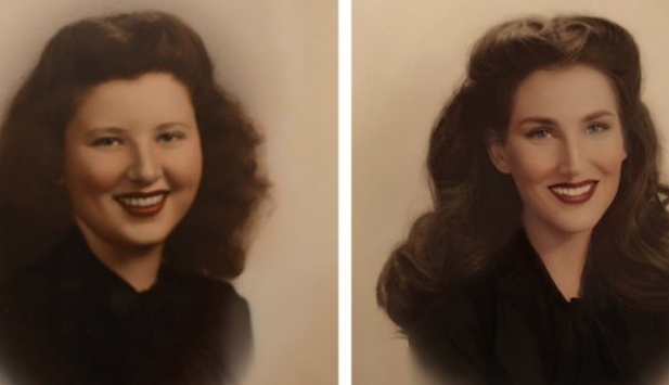 Artist Replicates Photos Of 7 Generations Of Women In Her Family And The Results Are Absolutely Stunning