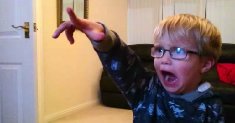Adorable 3-Year-Old Is Absolutely Mind Blown When He Watches The Star Wars Opening