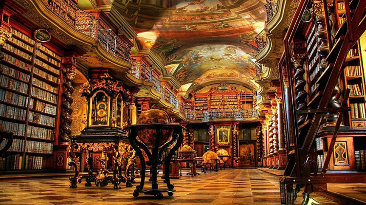 10 Of The Most Beautiful Libraries From Around The World