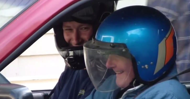 91-Year-Old Man Checks Off The First And Last Item From His Bucket List