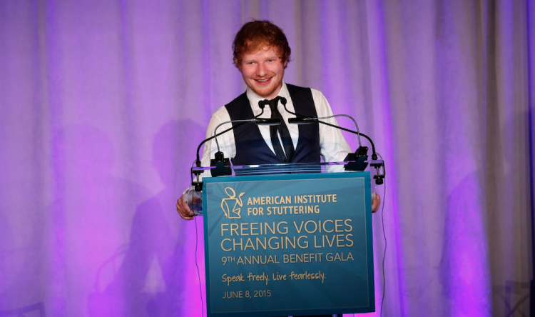 """Ed Sheeran Wins Award And Gives A Beautiful Speech Encouraging People: """"Embrace Your Weirdness"""""""