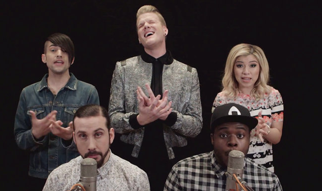 """Pentatonix Pays An AMAZING Tribute To The King Of Pop With The """"Evolution Of Michael Jackson"""""""