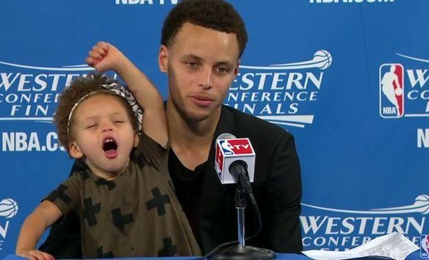 Shoutout To Riley Curry, The Real MVP Of The 2015 NBA Finals!