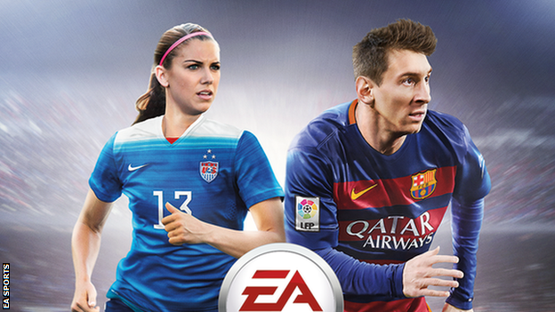 Alex Morgan Will Be Featured On The FIFA 16 Video Game Cover!