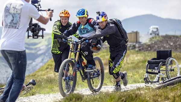 After A Life-Changing Injury, Mountain Biker Martyn Ashton Is Now Riding Again For The First Time