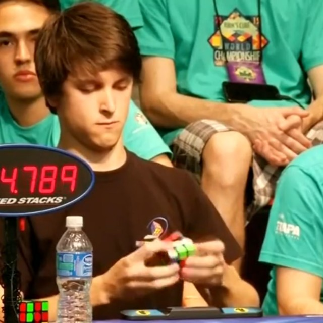 Watching This 19-Year-Old Solve A Rubik's Cube Will Absolutely Blow Your Mind!